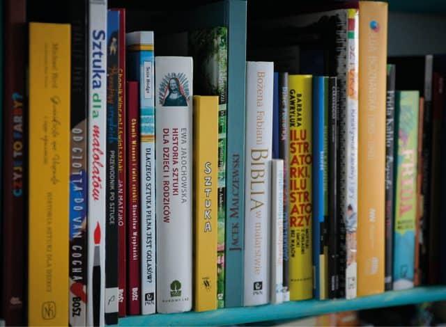 Książki osztuce, nie tylko dla dzieci