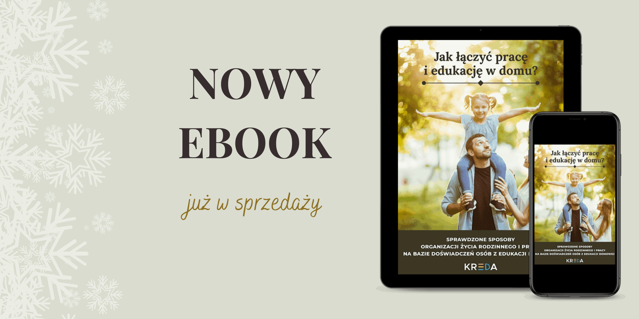 """Nowy ebook """"Jak łączyć pracę i edukację w domu"""""""